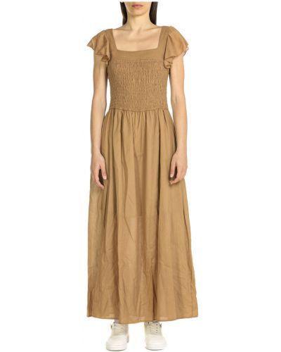 Beżowa sukienka Dixie