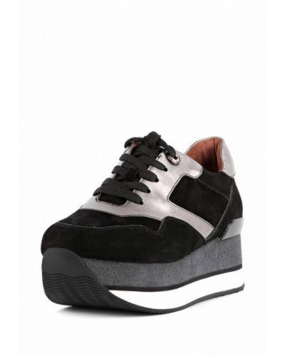 Кроссовки на платформе низкие замшевые Sasha Fabiani d624ccb796d