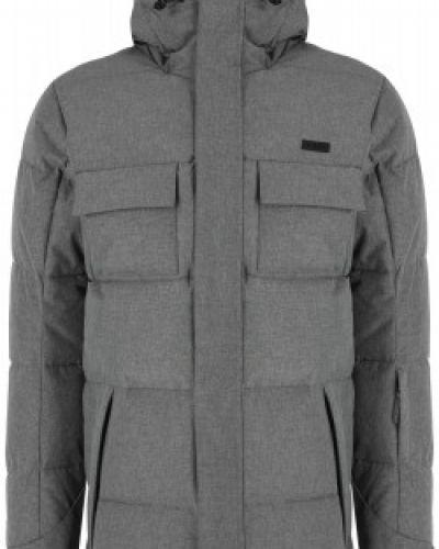 Серая длинная куртка Termit