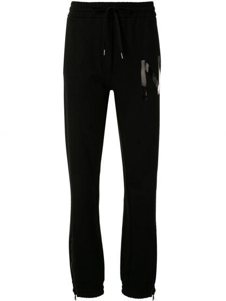 Sportowe spodnie z kieszeniami z mankietami N°21