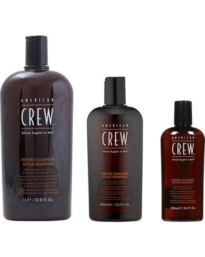 Кожаный шампунь с американской проймой American Crew