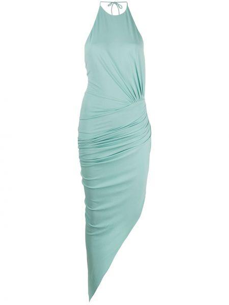 Платье макси мятный зеленый Alexandre Vauthier