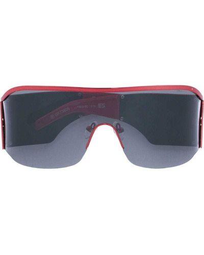 Солнцезащитные очки с логотипом красный Gianfranco Ferre Pre-owned