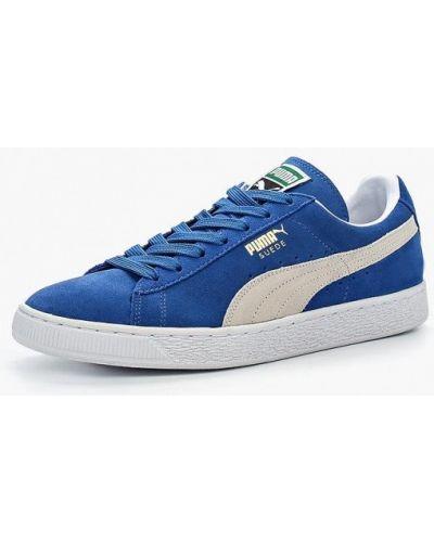 Синие кеды Puma