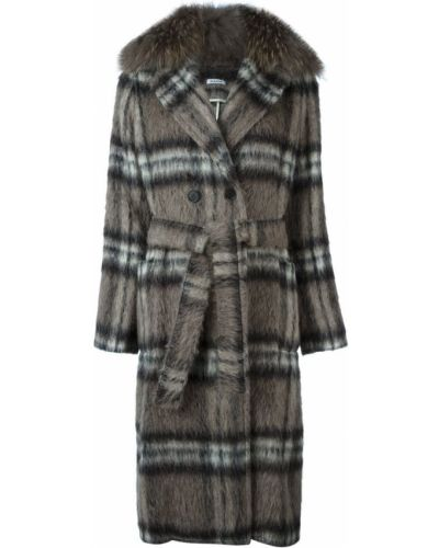 Пальто из альпаки шерстяное P.a.r.o.s.h.