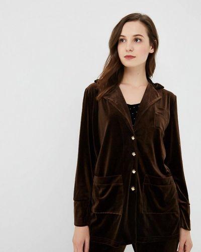 Блузка с длинными рукавами - коричневая Nemes
