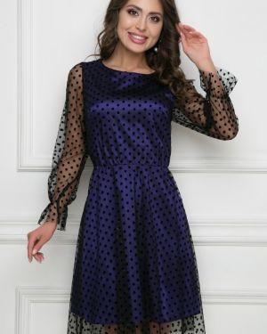 Платье в горошек сетчатое Bellovera