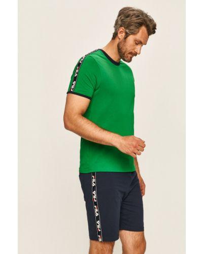 Piżama bawełniana - zielona Fila