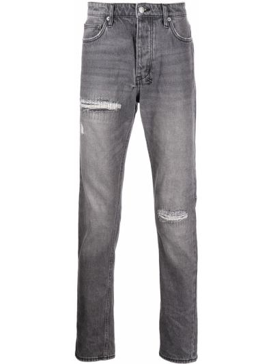 Niebieskie klasyczne mom jeans Ksubi