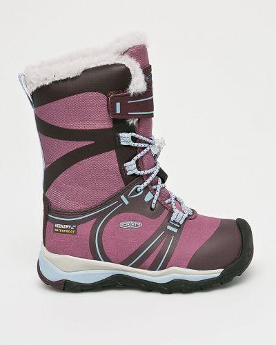Ботинки фиолетовый на шнуровке Keen