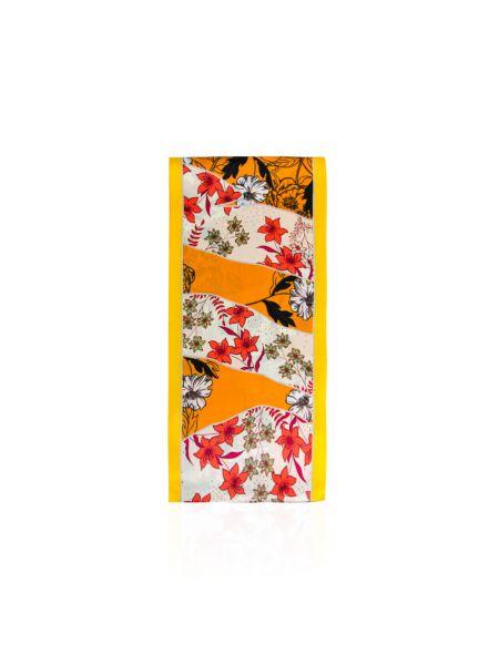 Żółty szalik Allora