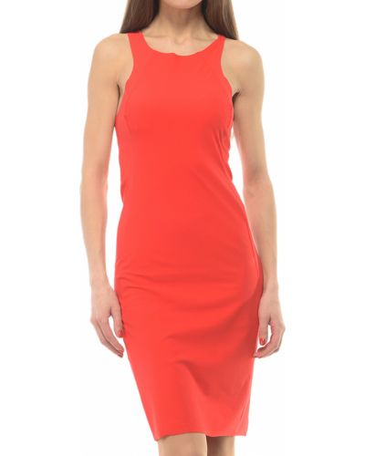 Платье весеннее красный Patrizia Pepe