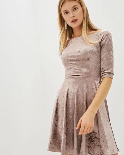 Платье розовое прямое Vittoria Vicci