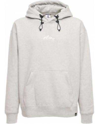 Prążkowana bluza kangurka Nike Acg
