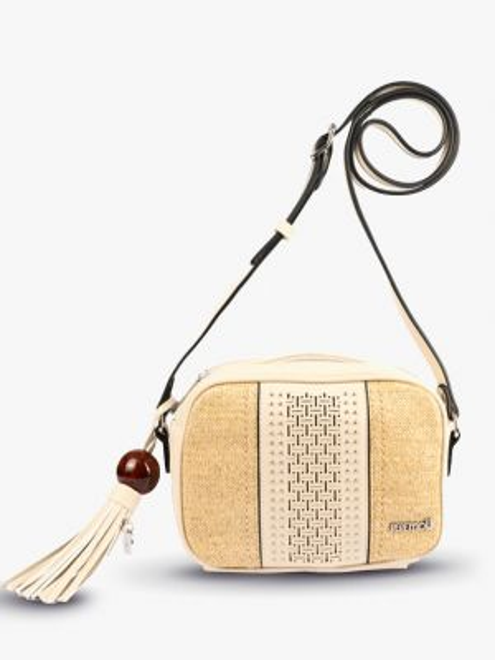 Повседневная сумка - бежевая Pepemoll