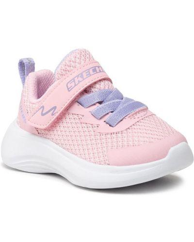 Joggery - różowe Skechers