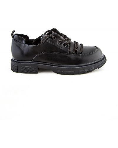 Черные зимние туфли Meitesi