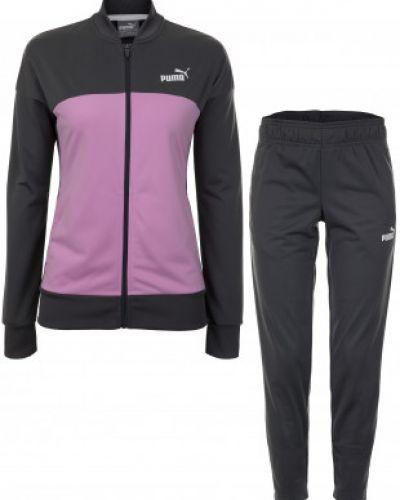 Розовый спортивный костюм Puma