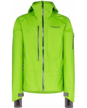 Спортивная облегченная куртка с капюшоном с манжетами на молнии Norrona