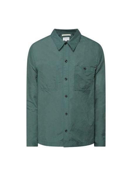 Koszula z długimi rękawami - zielona Norse Projects