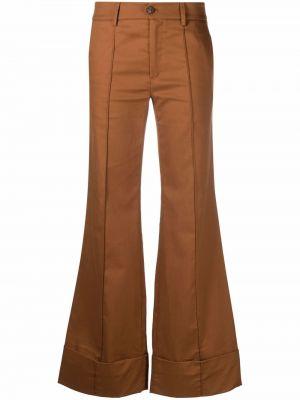 Хлопковые брюки - коричневые SociÉtÉ Anonyme