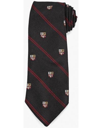 Черный галстук итальянский Polo Ralph Lauren