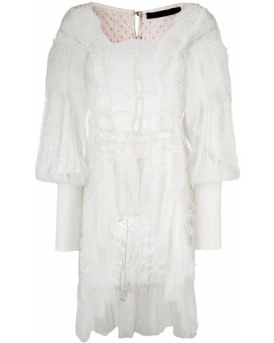 Блузка шелковая белая Amen.