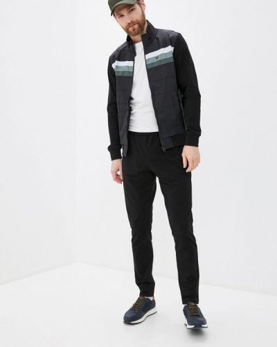 Костюмный черный спортивный костюм Bilcee