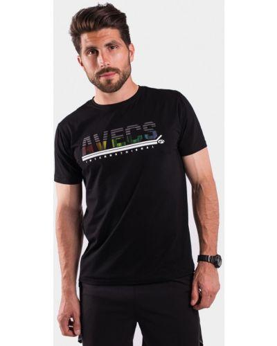Черная футболка Avecs