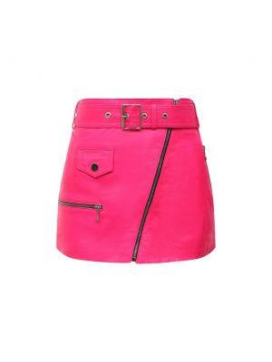 Розовая итальянская юбка Manokhi