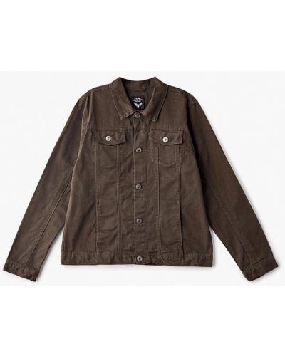 Куртка джинсовая зеленый Brave Soul