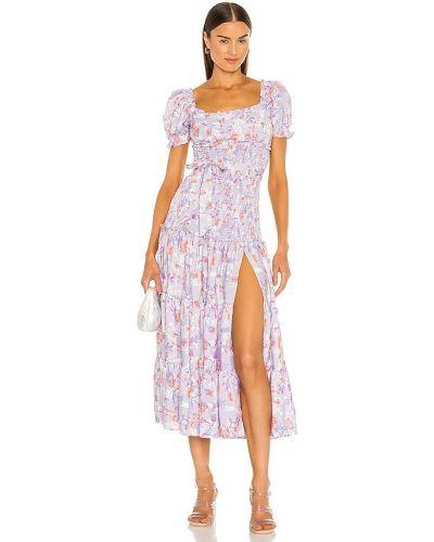 Fioletowa sukienka Likely