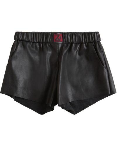 Черные шорты на резинке Zadig&voltaire