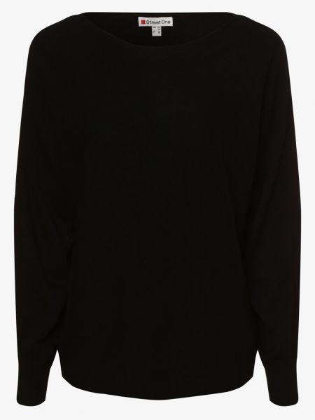 Czarny sweter dzianinowy Street One