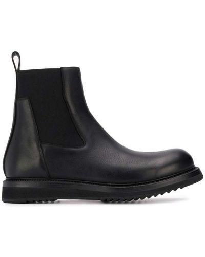Ботильоны кожаный для обуви Rick Owens