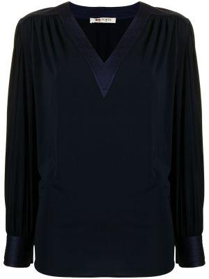 Шелковая блузка - синяя Ports 1961