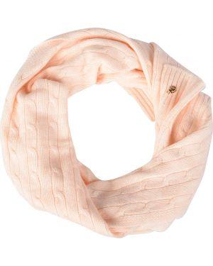 Акриловый розовый шарф Trussardi Jeans