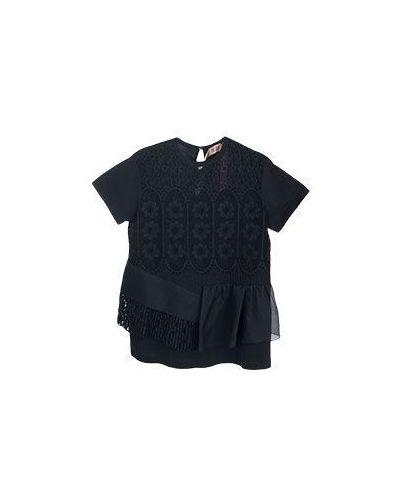 Блузка вечерняя черная No.21