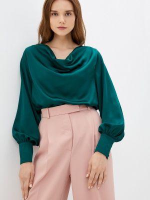 Зеленая блузка осенняя Zibi London