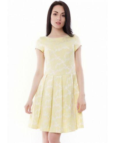 Желтое платье Vergans