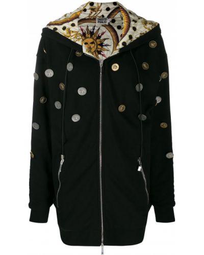 Пальто с капюшоном на молнии пальто Fausto Puglisi
