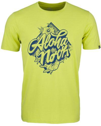 T-shirt na co dzień bawełniany khaki Northfinder