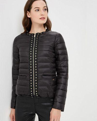 Зимняя куртка осенняя черная Gaudi