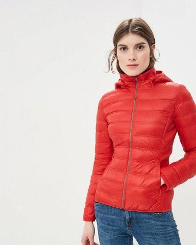 Зимняя куртка весенняя красная United Colors Of Benetton