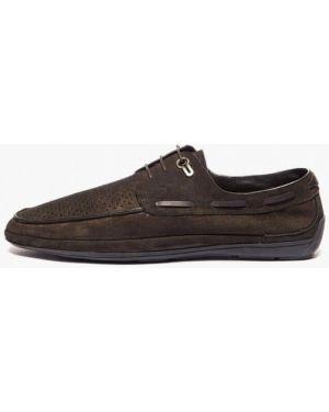 Туфли замшевые коричневый Basconi