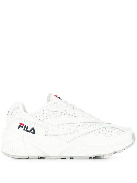 Кроссовки белый с логотипом Fila