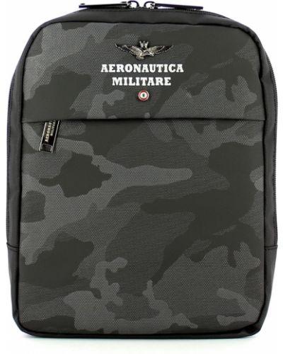 Szara torba materiałowa Aeronautica Militare