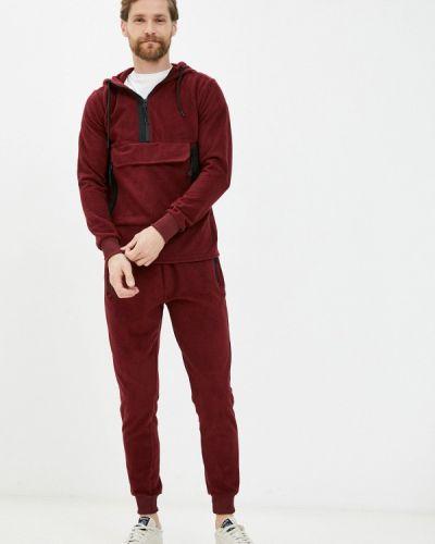 Костюмный красный спортивный костюм Aarhon