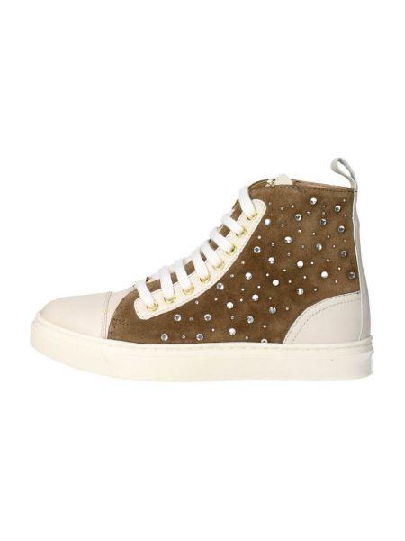 Brązowe sneakersy Braccialini