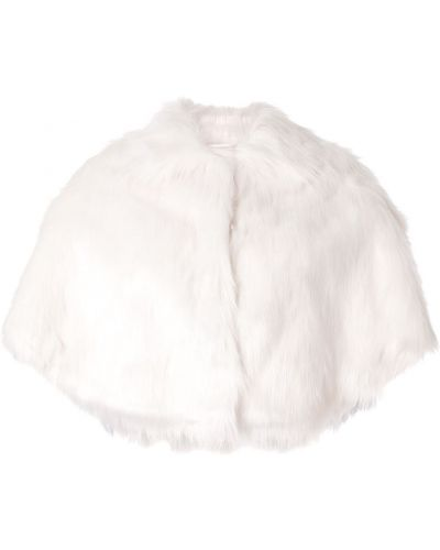 Biała szal Unreal Fur